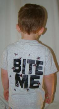 """Dee Ridge """"Bite Me"""" T-Shirt - Back"""